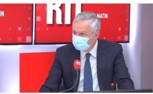 """Pass sanitaire : """"Nous n'abandonnerons pas les entreprises pénalisées"""" annonce Bruno Le Maire"""