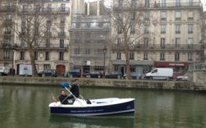 Talents du CERED : bateaux électriques sans permis pour découvrir Paris sous un autre angle
