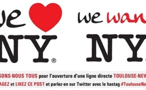 Toulouse-Blagnac veut une liaison vers New-York et le fait savoir sur les réseaux sociaux