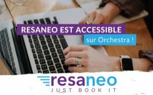 Resaneo est désormais accessible sur Orchestra