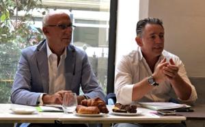 Marc Thepot (gche) et Maxime Tissot /crédit JDL