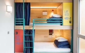 Hostels : Louvre Hotels lance un concept de lit-capsule à Paris