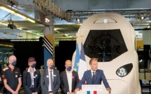 Emmanuel Macron célèbre 40 années de TGV