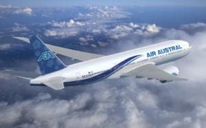 Réunion : Air Austral plane sur un petit nuage