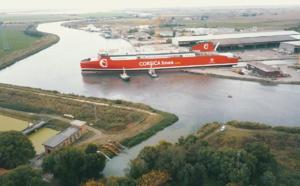 Mise à l'eau réussie pour le premier navire au GNL de Corsica Linea