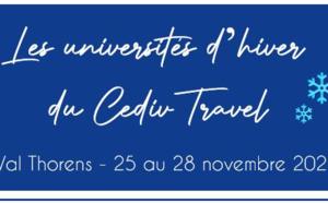 Le CEDIV organisera ses Universités d'hiver à Val Thorens