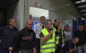 Aéroport de Marseille : les salariés CGT d'Air France se mobilisent pour leurs emplois