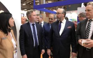 Jean-Baptiste Lemoyne et Frédéric Lorin, directeur du Salon lors d'une édition précédente - DR IFTM