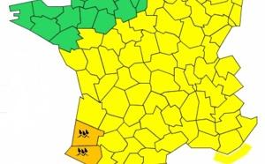 Météo France : 2 départements aquitains en vigilance orange aux orages