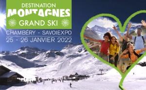 Le salon Destination Montagnes - Grand Ski de retour à Chambéry