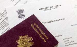 Inde: l'ambassade communique sur la reprise de la délivrance des visas