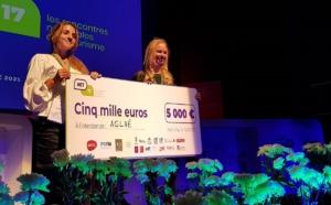 Aglaé a remporté le start-up contest des 17e Rencontres eTourisme de Pau  - Crédit photo : RP