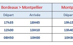 Chalair reprend la ligne Bordeaux - Montpellier