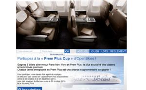 OpenSkies : 5 A/R Paris-New York en jeu pour un challenge des ventes