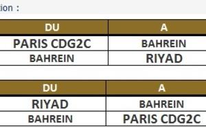 Gulf Air : une rotation quotidienne supplémentaire entre Bahreïn et Riyad dès le 27 octobre 2013