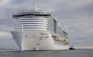 GNL : le Costa Toscana passe ses premiers essais en mer