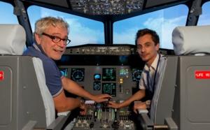 AviaSim installe des simulateurs de vols dans deux hôtels parisiens