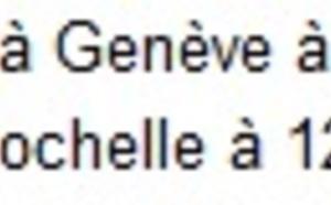 easyJet : vols La Rochelle-Genève dès le 25 juin 2014