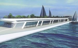 Le port de Monaco se dote d'une digue «capitainerie»