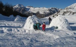 Réveillons insolites : fêtez la nouvelle année dans un igloo dans la Vallée d'Aspe