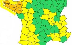 Crues : 4 départements de l'Ouest en alerte orange