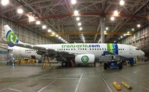 transavia.com a reçu un nouveau Boeing B737-800