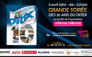 10 ans du DITEX : on vous attend nombreux à la méga soirée TourMaG - Give & Dance
