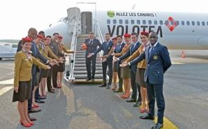 Volotea décore un avion aux couleurs du FC Nantes