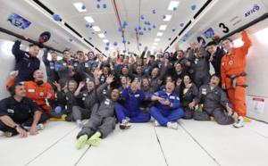 Vol en apesanteur : pour ses 50 ans, Carrefour s'envoie en l'air avec 40 clients !