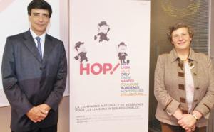 Hop ! : 316 000 sièges au départ de Nice Côte d'Azur en 2014