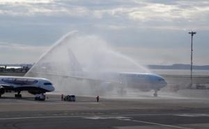 Le premier vol charter en provenance de la Corée du Sud atterrit à Marseille Provence