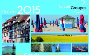 France : Circuitgroupes édite sa brochure 2015