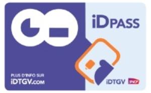 iDPASS : la carte d'embarquement sans contact d'iDTGV