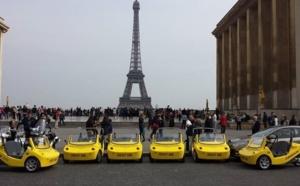 CanariCar : visiter Paris à bord de petites voitures jaunes...