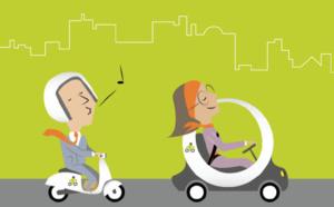 e-véhicules en libre service : Wattmobile s'implante dans 20 gares en France