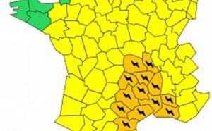 Pluie : 13 départements français en alerte orange