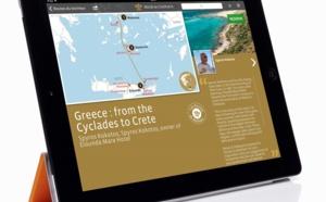 L'application iPad Relais & Châteaux adopte de nouvelles fonctionnalités