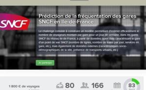 La SNCF souhaite prédire la fréquentation des gares d'Ile-de-France