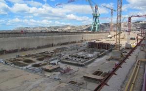 Marseille : le Port rénove sa Forme 10 pour réparer les plus gros navires de croisières