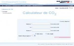 Air France met en ligne son calculateur d'émissions de CO2