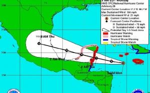 Yucatan : alerte maximale à l'ouragan Dean au Mexique