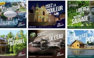 Paris : l'Agence Touristique de la Vienne affiche ses partenaires dans le métro