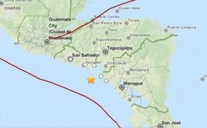 Séisme de magnitude 7,4 au large du Nicaragua et du Salvador le 13 octobre 2014