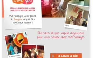 VVF Villages propose aux internautes de lancer un défi à ses salariés