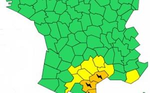Orages : 3 départements du Languedoc-Roussillon en vigilance orange