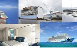 Croisières : 5 nouveaux paquebots entreront en service en 2015