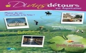 Aquitaine : nouvelle brochure Divins Détours