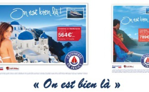 """""""On est bien là"""" : Croisières de France communique jusqu'au 4 février 2015"""