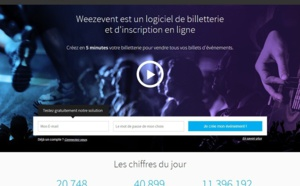 Vente Privée investit le capital de Weezevent
