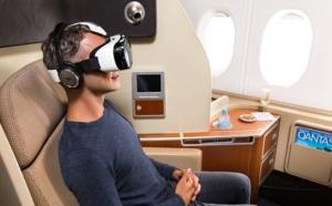 Qantas teste les casques de réalité virtuelle à bord de ses A380